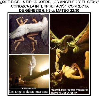 ANGELES CAIDOS Y EL SEXO