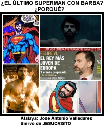 SUPERMAN CON BARBA